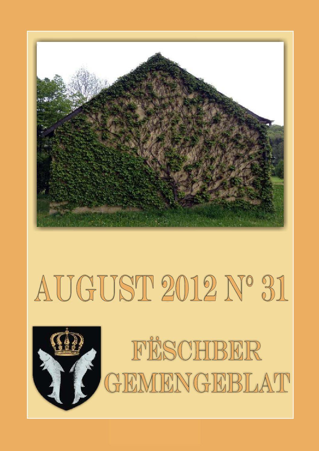 August 2012 Gemengeblat No. 31
