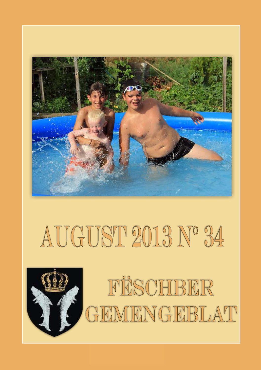 August 2013 Gemengeblat No. 34