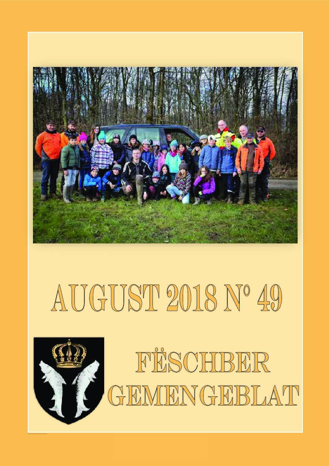 August 2018 Gemengeblat No. 49