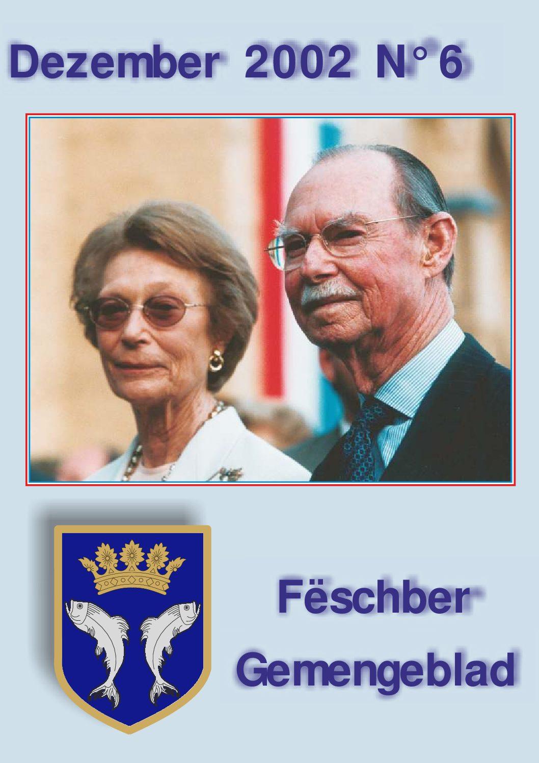 Dezember 2002 Gemengeblat No. 6