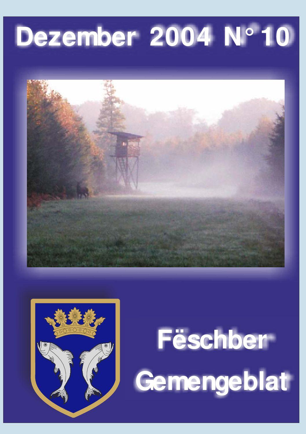 Dezember 2004 Gemengeblat No. 10