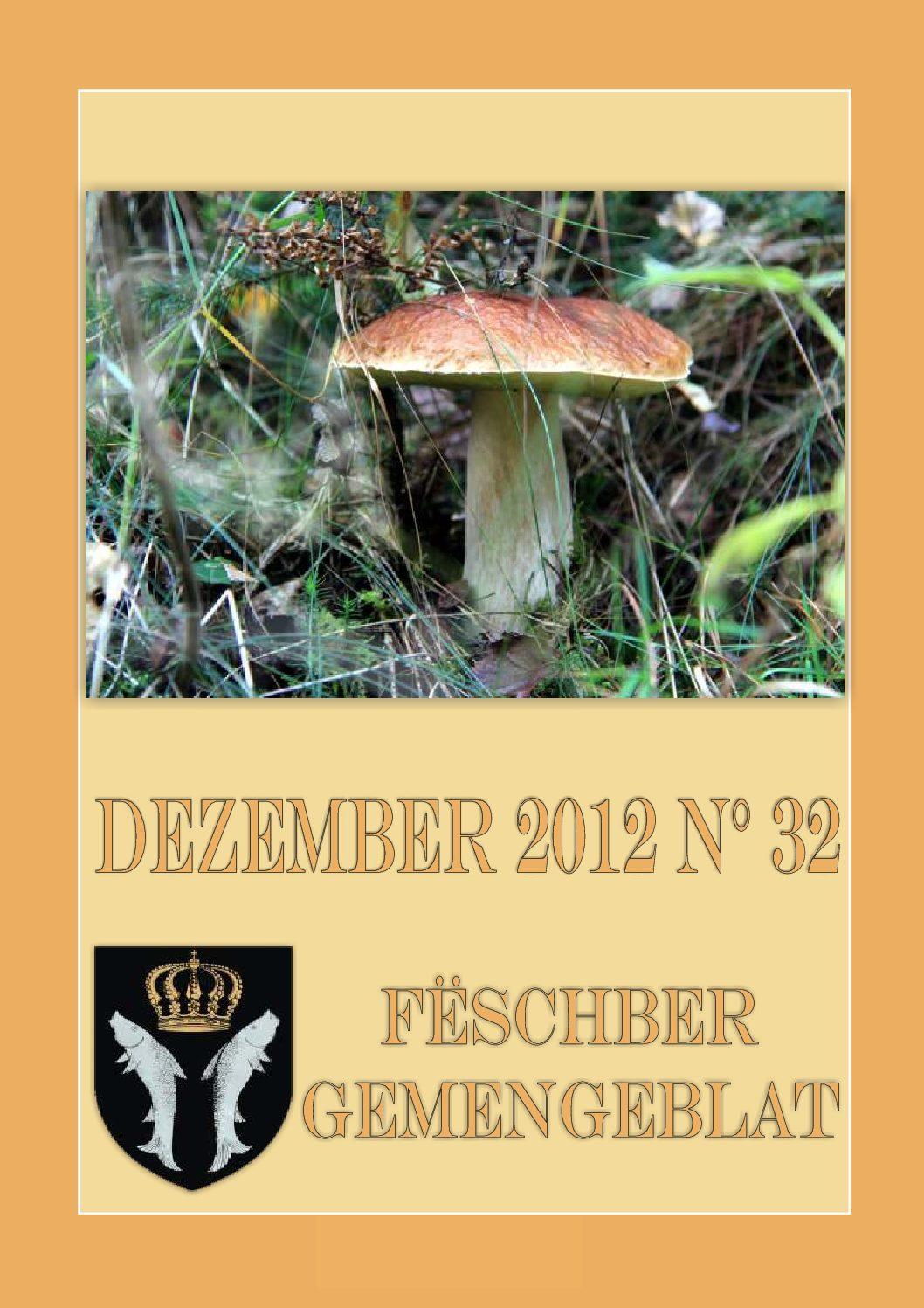 Dezember 2012 Gemengeblat No. 32
