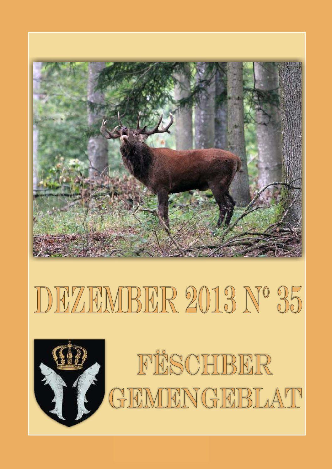Dezember 2013 Gemengeblat No. 35
