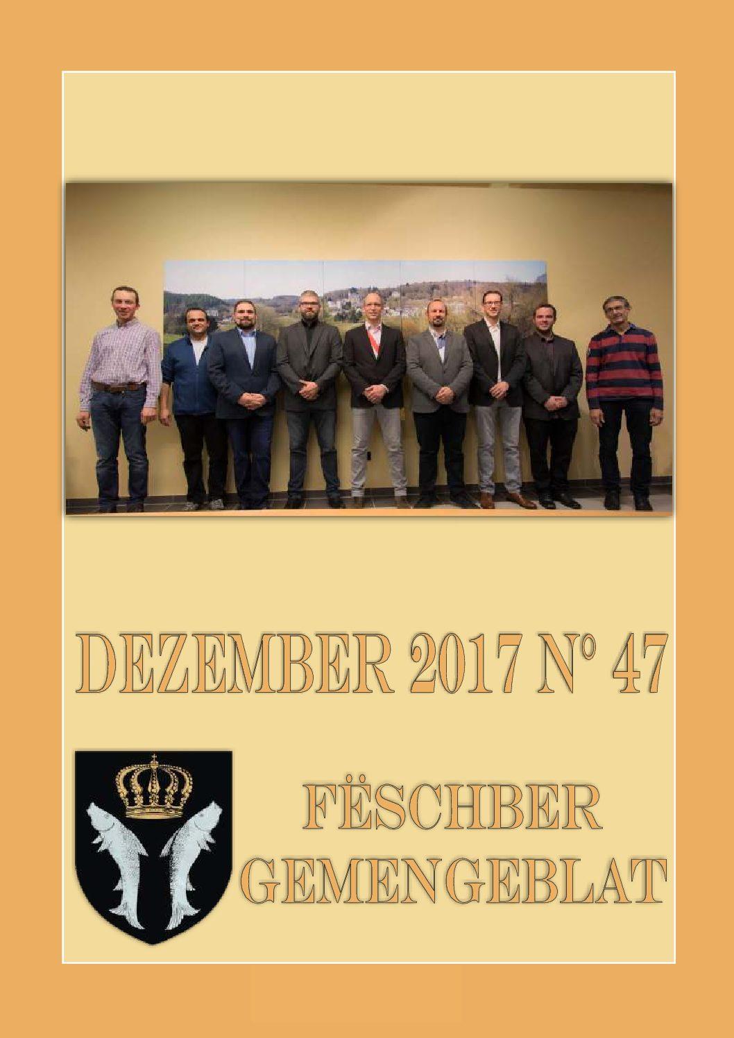 Dezember 2017 Gemengeblat No. 47