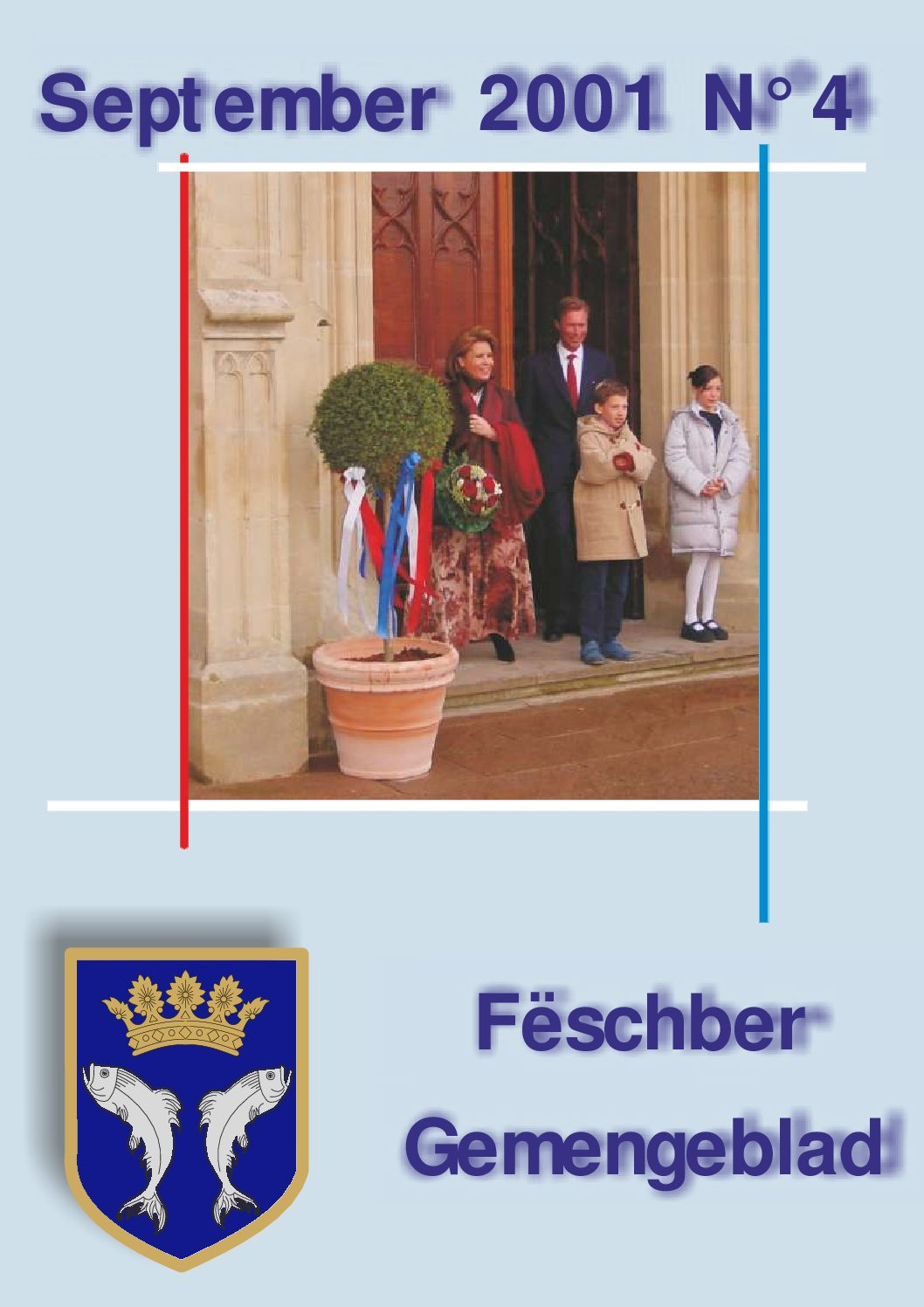 September 2001 Gemengeblat No. 4
